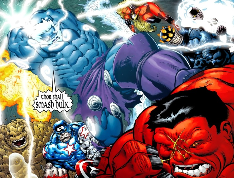Power Bestowal (persons)–Fall of the Hulks #21 (2010)