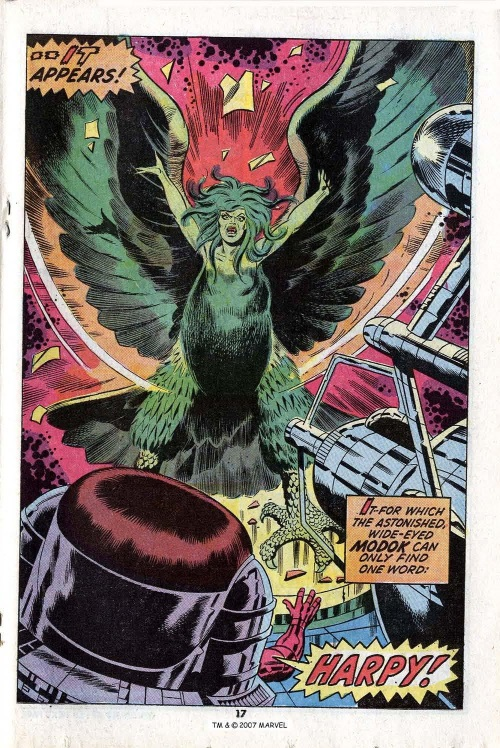 Power Bestowal (persons)–Gamma-Betty Ross-Harpy-Incredible Hulk V1 #168-19