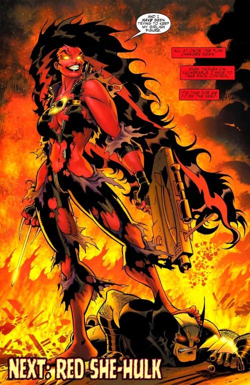 Power Bestowal (persons)–Gamma-Betty Ross-Red She-Hulk-Hulk V2 #2