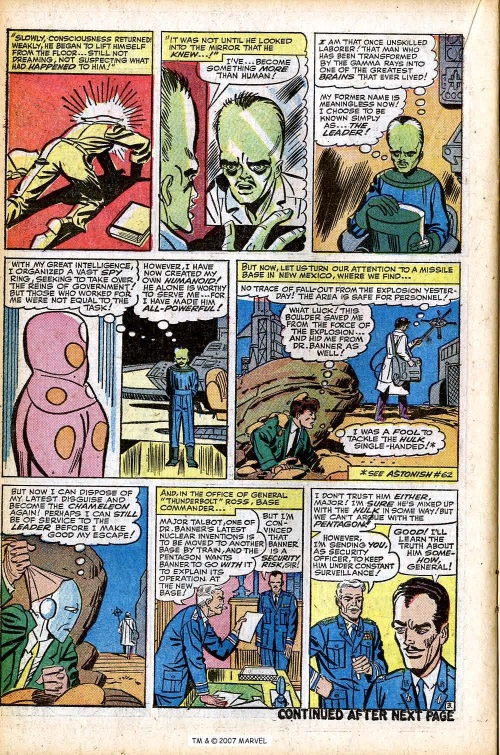Power Bestowal (persons)–Gamma-Leader-Tales to Astonish V1 #63-22