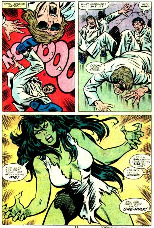 Power Bestowal (persons)–Gamma-Savage She-Hulk #1-13