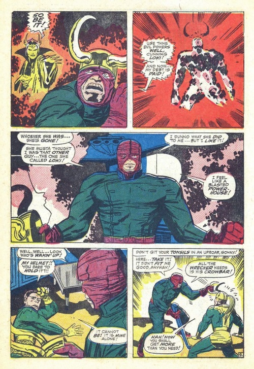 Power Bestowal (persons)–Karnilla bestows power to the Wrecker-Thor #148