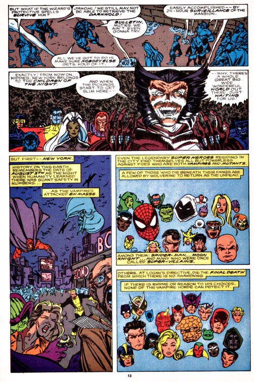 Power Bestowal (persons)–What If V2 #24-Wolverine was Lord of the Vampires
