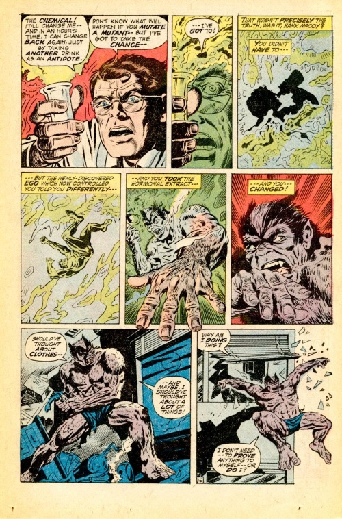 Power Manipulation-Secondary Mutation-Beast-Amazing Adventures #11