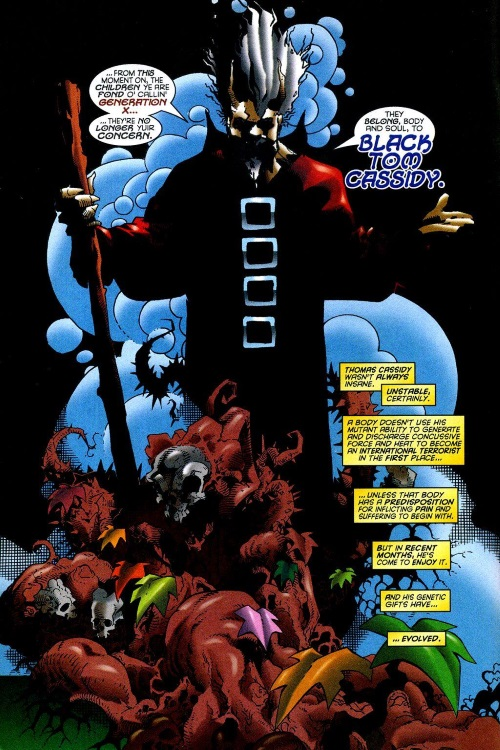 Power Manipulation-Secondary Mutation-Black Tom-Generation X V1 #25