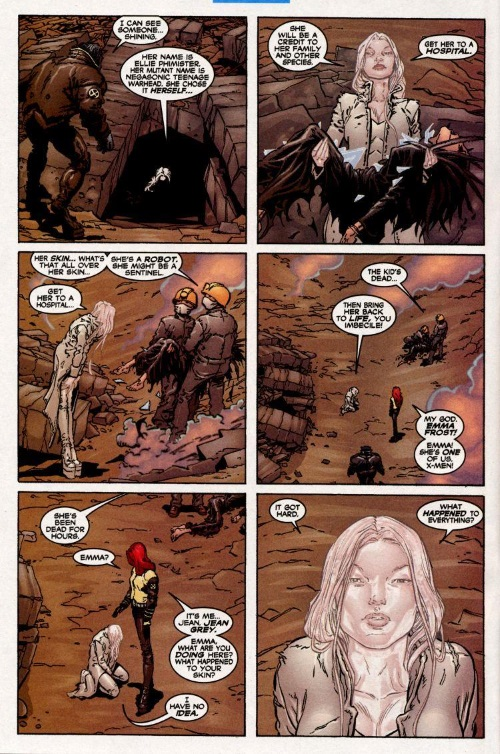 Power Manipulation-Secondary Mutation-Emma Frost-New X-Men #116