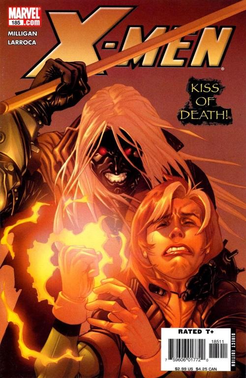 Power Manipulation-Secondary Mutation-Gambit-X-Men #185