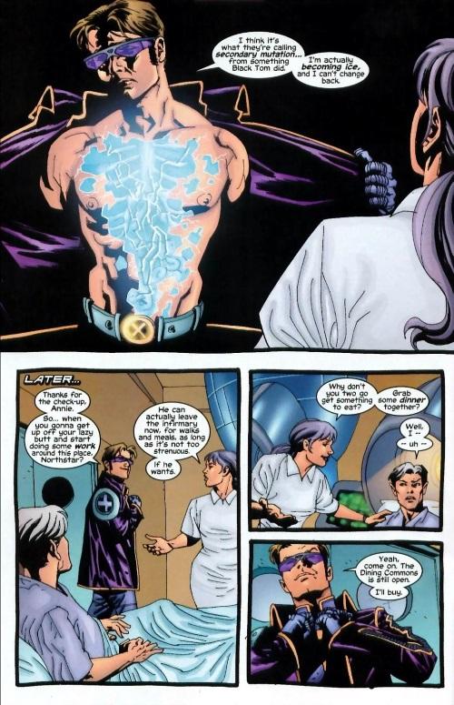 Power Manipulation-Secondary Mutation-Iceman-Uncanny X-Men V1 #415