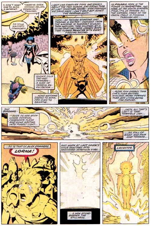 Power Manipulation-Secondary Mutation-Polaris-Uncanny X-Men V1 #250