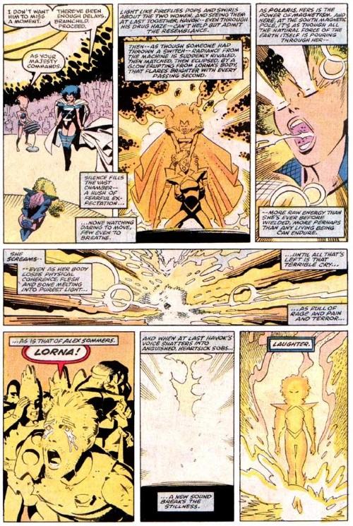 Power Manipulation-Secondary Mutation-Polaris-Uncanny X-Men V1 #250