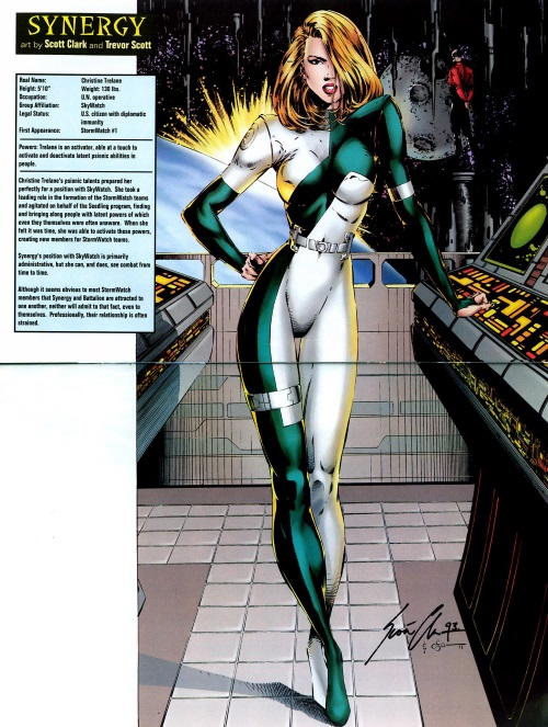 Power Manipulation-Synergy-Stormwatch Sourcebook