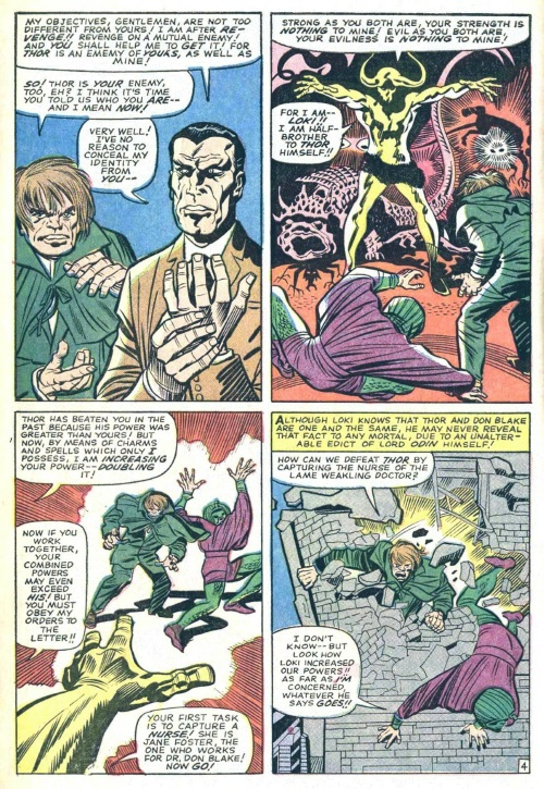 Power Manipulation–Loki manipulates power of Cobra and Mister Hyde-Journey into Mystery #110