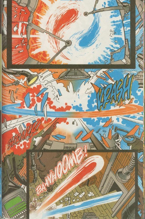 Power Manipulation–Superman Red Superman Blue #1