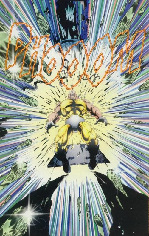 Power Manipulation–Wolverine V2 #100-16