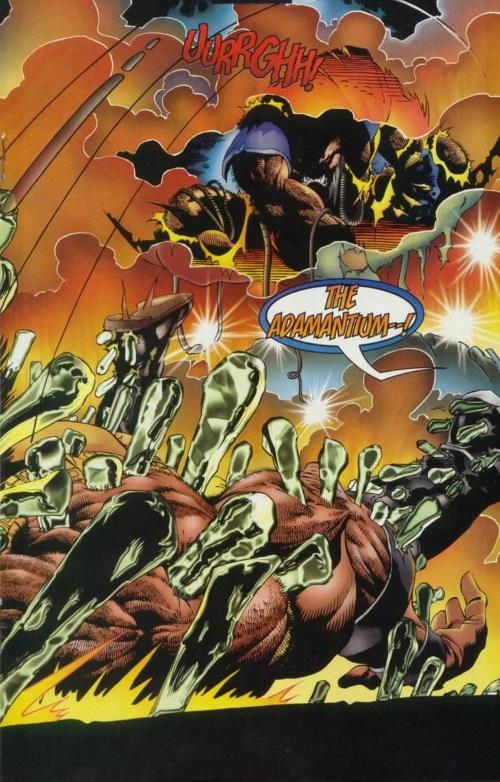 Power Manipulation–Wolverine V2 #100-18