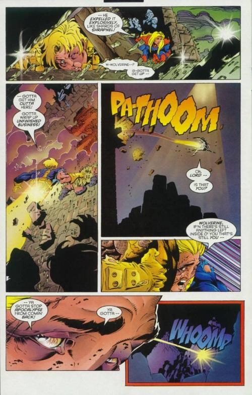 Power Manipulation–Wolverine V2 #100-19
