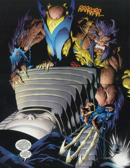 Power Manipulation–Wolverine V2 #100-26