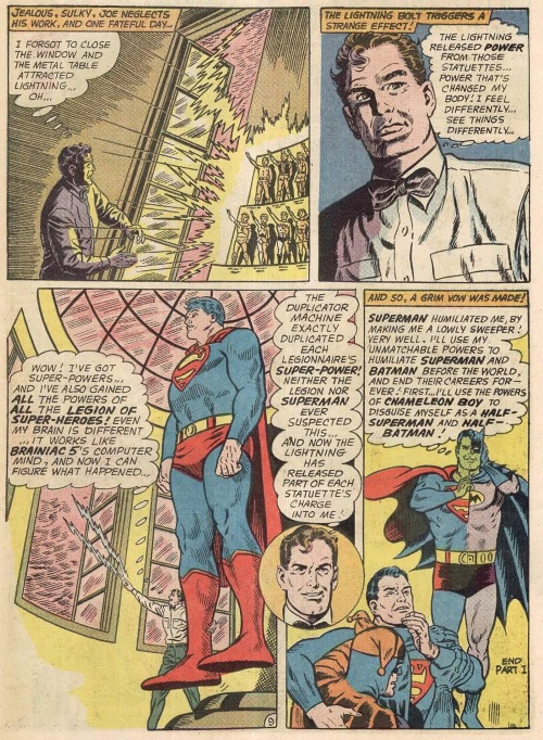 Power Mimicry-Composite Superman-World's Finest Comics V1 #142-11