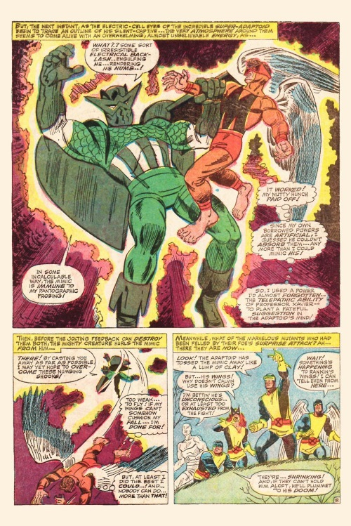 Power Mimicry-Mimic vs Super Adaptoid-Uncanny X-Men V1 #29