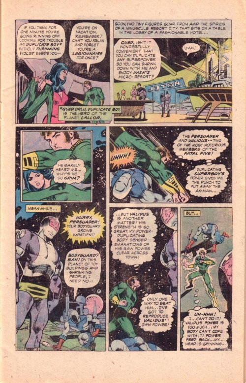 Power Mimicry–Duplicate Boy-Superboy starring the Legion of Super-Heroes #219-3