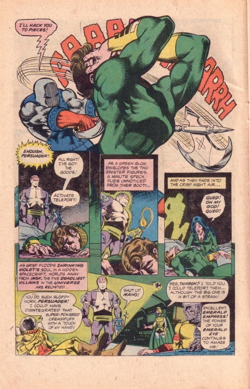 Power Mimicry–Duplicate Boy-Superboy starring the Legion of Super-Heroes #219-4