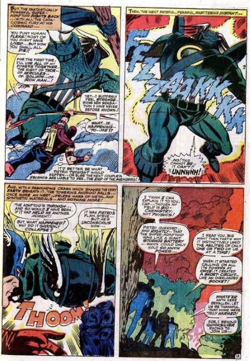 Power mimicry–Super Adaptoid - Avengers v1 #45