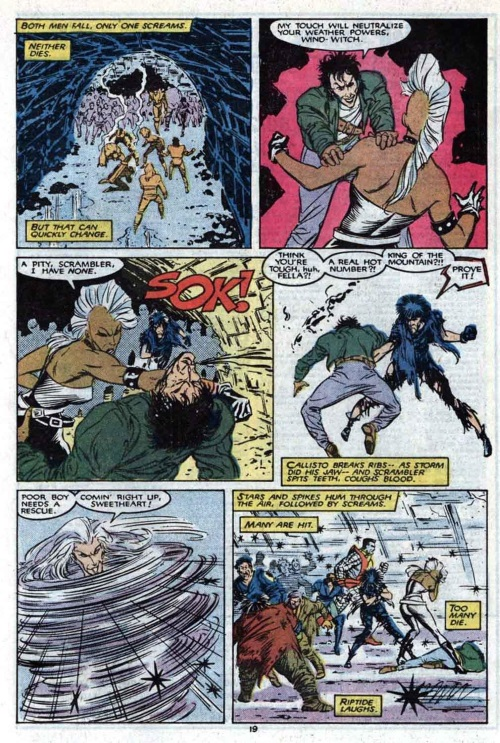 Power Negation–Scrambler-Uncanny X-Men V1 #211