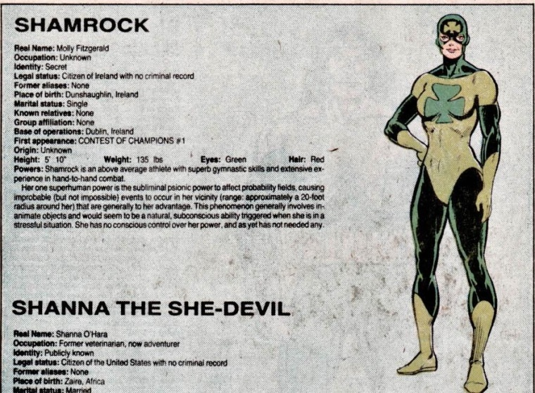 probability-manipulation-good-shamrock-official-handbook-of-the-marvel-universe-v1-9