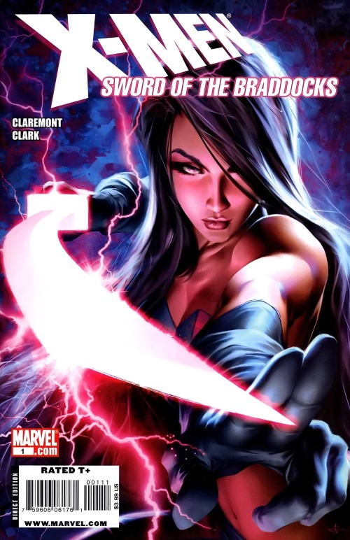 Psychic Weapons-Psylocke-X-Men Sword of the Braddocks #1