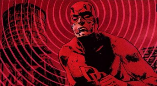 Radar sense-Daredevil (Marvel)