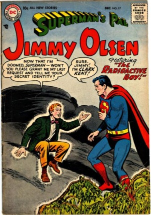 Radiation Immunity-OS-Jimmy Olsen V1 #17