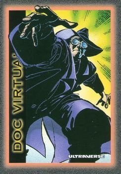 Reality Warping-1993 SkyBox Ultraverse-57Fr Doc Virtual