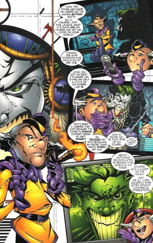 Reality Warping-Superman-Emperor Joker #5-18