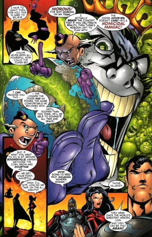 Reality Warping-Superman-Emperor Joker #5-19