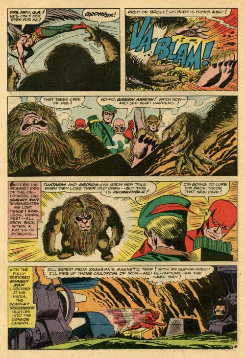Regeneration-Shaggy Man-Justice League of America V1 #45 (1966)