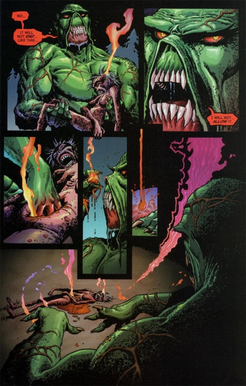 Resurrection (others)-Swamp Thing V4 #6-4