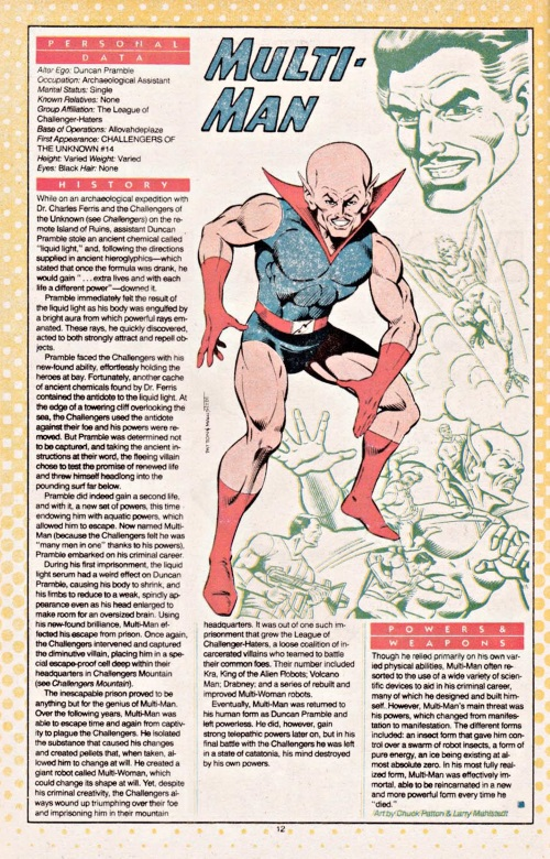 Resurrection (self)-Multi-Man-DC Who's Who #16