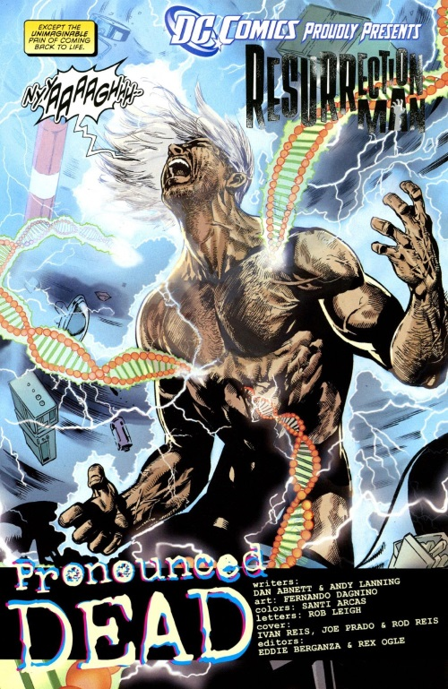 Resurrection (self)–Resurrection Man #1 (DC)