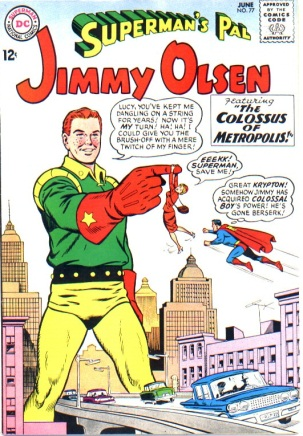 Size Growth (object)-OS-Jimmy Olsen V1 #77