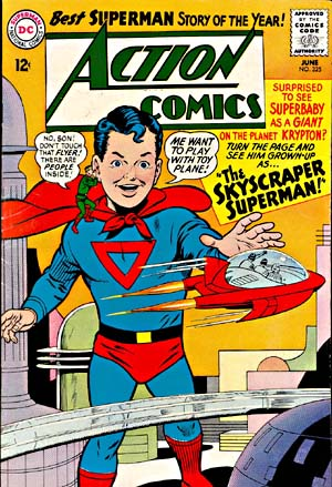 Size Growth (object)-OS-Superboy-Action Comics V1 #325