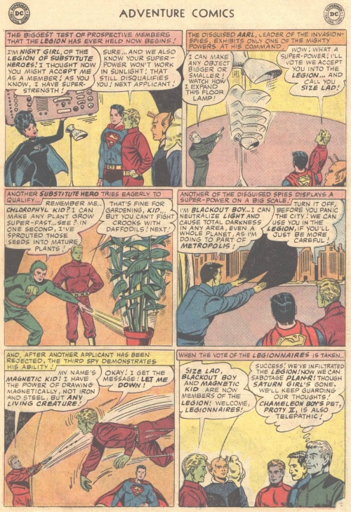 Size Growth (object)-Size Lad-Adventure Comics V1 #337 (DC)
