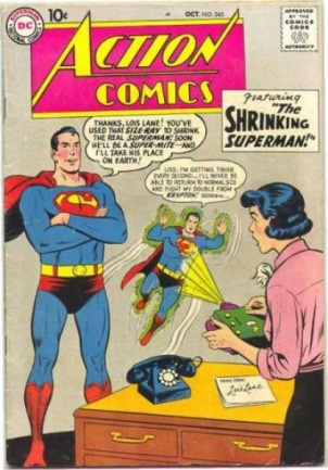 Size Reduction (object)-OS-Action Comics V1 #245