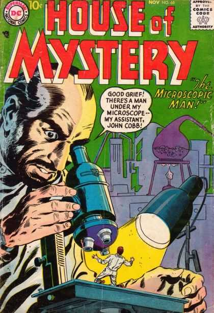 Size Reduction (object)-OS-House of Mystery V1 #68