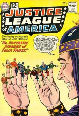 Size Reduction (object)-OS-Justice League of America V1 #10