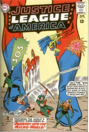 Size Reduction (object)-OS-Justice League of America V1 #18