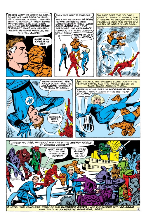 Size Reduction (self)–Microverse-Fantastic Four V1 #16 (Marvel)-13