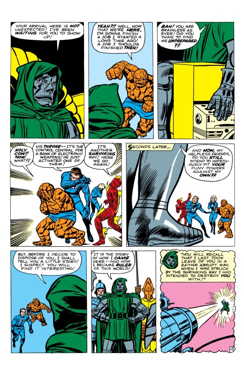 Size Reduction (self)–Microverse-Fantastic Four V1 #16 (Marvel)-14