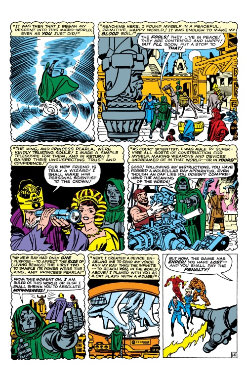 Size Reduction (self)–Microverse-Fantastic Four V1 #16 (Marvel)-15