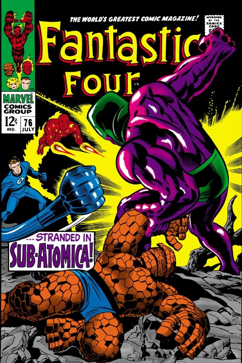 Size Reduction (self)–Microverse-Fantastic Four V1 #76 (Marvel)