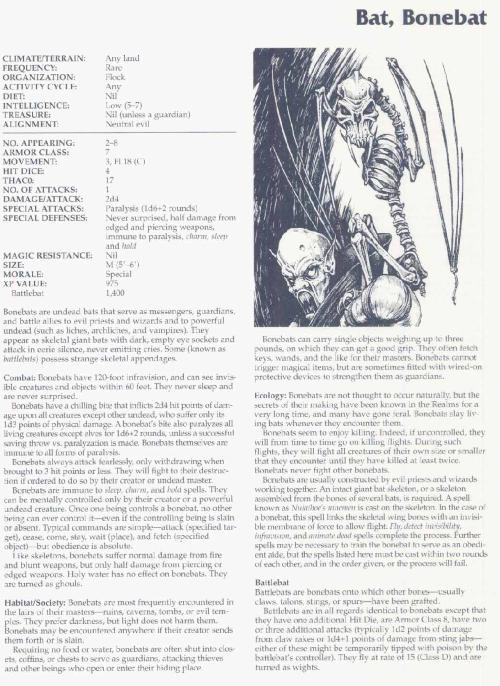 skeleton-mimicry-bonebat-tsr-2166-monstrous-compendium-annual-volume-3
